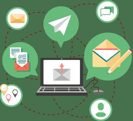 外部メール連携機能